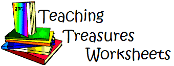 teaching treasures worksheets