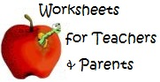 worksheets for teachers and parents